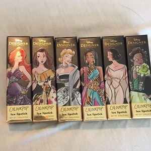 LE Colourpop Disney Princess Lipstick Bundle